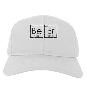 Be Er - Periodic Table of Elements Adult Baseball Cap Hat by TooLoud