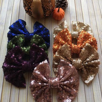 Sparkle Messy hair bows