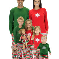 Christmas Couple Pajama Sets Stripe Winter Huis Pakken Kigurumi Cotton Pajamas