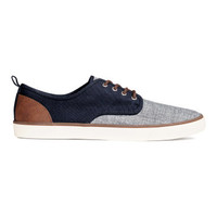 H&M Canvas Sneakers $29.99