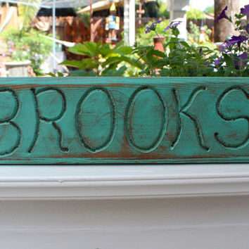 Handmade Wood Sign - Brooks - Name - Wooden - Home Decor - Wall Hanging