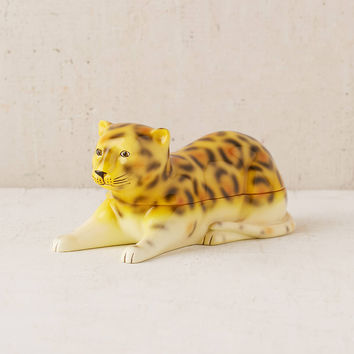 Leopard Stash Box | Urban Outfitters
