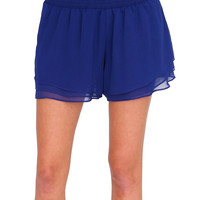 Summer Bliss Shorts Royal