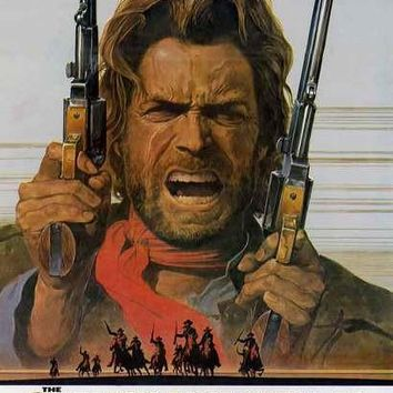 The Outlaw Josey Wales Movie Poster 11x17