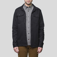Fatigue Overshirt / Black