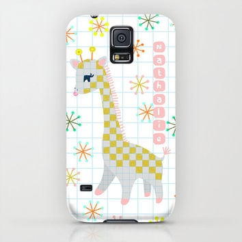 Personalized Giraffe Phone Case