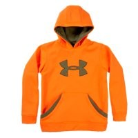 Under Armour Boys' Camouflage Big Logo Hoodie