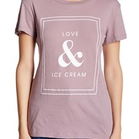 WILDFOX | Love And Ice Cream Tee | Nordstrom Rack