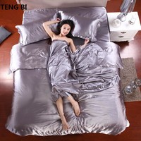 sell like hot cakes Bedding set 2018 New Style Bedding  Silk Frozen Quilt Set  Piece Set  Bed Pillow Case , King Queen twin Size