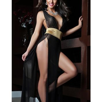 MOONIGHT Sexy Baby Doll Long Dress