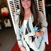 Pretty Little Liar Cardi {Mint}