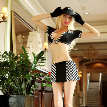 Hot Deal Cute On Sale Sexy Games Uniform Cosplay Costume Exotic Lingerie [6580695111]