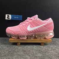 2018 Nike Air VaporMax cdg Airmax Pink Women Shoe US5.5-8.5