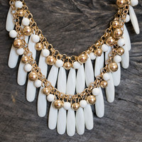 Double Layered Necklace Set