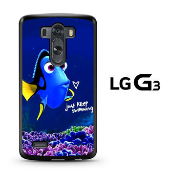 Just Keep Swimming Dory LG G3 Case