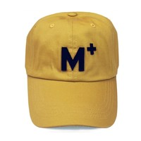 M+ YELLOW MID PROFIL HAT