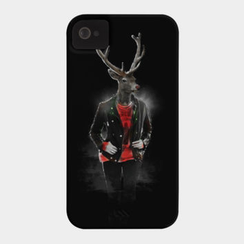 Blizzard Deer Phone Case By Daniacdg Design By Humans