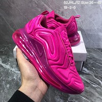 CHXX N1051 Nike Air Max 720 inne eye Full Palm Air Cushion Sports Running Shoes Rose Red