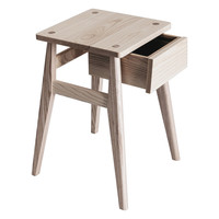 Bedside Table Ash by Splinter Designs