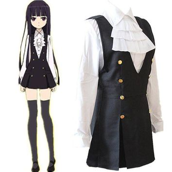 ESBON Anime Bloomers Inu Boku Secret Service Shirakiin Riricho Cosplay Costumes Girls School Uniform Clothing Suit Halloween Dresses