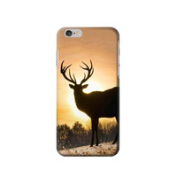 P1938 Deer Buck In Sunset Phone Case For IPHONE 6S PLUS