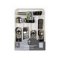 Gibson Home Casual Living 58-Piece Stainless Steel Flatware Set - Walmart.com