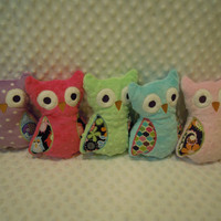 Owl - Stuffed and Monogrammed