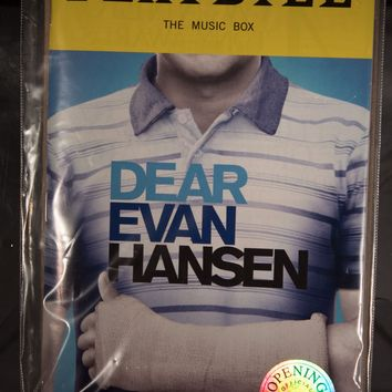 Dear Evan Hansen Opening Night Playbill