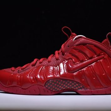 Nike Air Foamposite Pro Red Sneakers Size 41-46