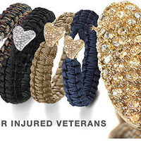 Designer Fashion LovelinksAmerica From Soldier To Soldier Bracelets - Support the Cause