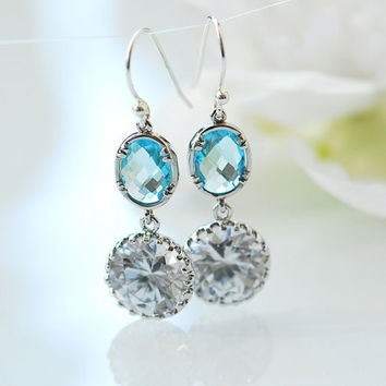 Cielo earrings by joojooland on Etsy