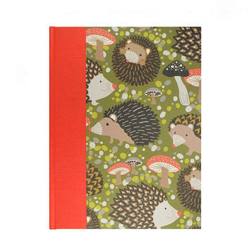Baby  Keepsake Memory Book Hedgehogs