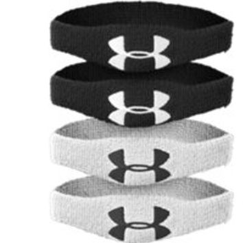 "Under Armour "" UA Oversized Performance Wristband 4-Pack"