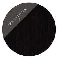 Onyx Black #1 Clip In Hair Extensions