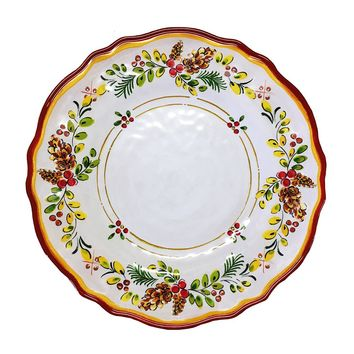 Le Cadeaux Holiday Noelle Melamine Dinnerware