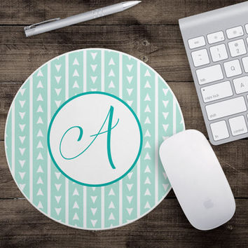Customized - Monogrammed Mouse Pad - Fun Mouse Pad - Cute Mouse Pad - Desk Accessory - Secretary Gift - Gift For Teachers - Gifts Under 15