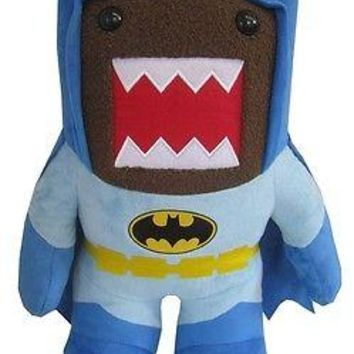 """Domo BATMAN BLUE Classic Retro DC Heroes Small 6"""" Plush - New with tags"""