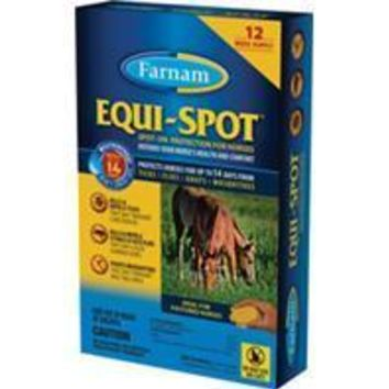Farnam Companies Inc - Equi Spot Spot-on Fly Control For Horses Stable Pk