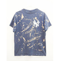 Yankees Baseball Shirt, Bleached