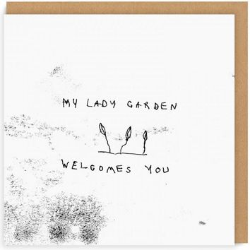 My Lady Garden Welcomes You Card