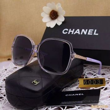DCCKU62 Original Chanel Fashion New Design Polarized Lenses Sunglasses 6003 - 154