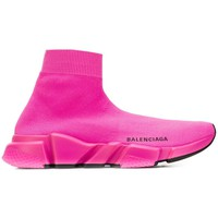 Fluorescent Pink Speed Sock Sneakers by Balenciaga