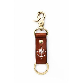 Keys to Adventure Key Fob in White by Kiel James Patrick