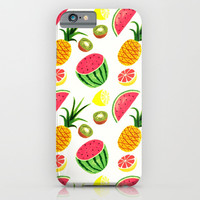 SUMMER FRUITS iPhone & iPod Case by Ylenia Pizzetti