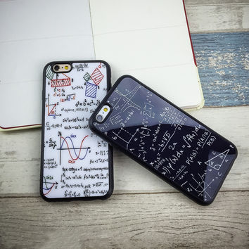 New Luxury Fashion Painted Graffiti mirror iPhone Case