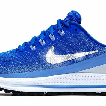 Nike Air Zoom Vomero 13 + Crystals - Racer Blue