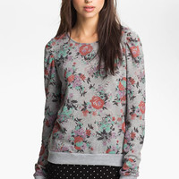 Ten Sixty Sherman Puff Sleeve Sweatshirt (Juniors) | Nordstrom