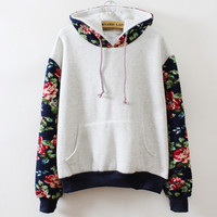 womens autumn winter warm sweater girl hoodie outwear lady top gift 169