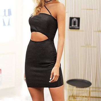 Rosalie Rockin' the Cutout Dress
