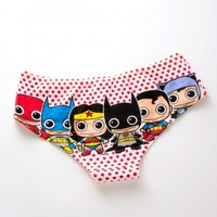 Justice League Hipster Brief Panty